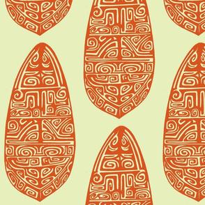 The Polynesian orange