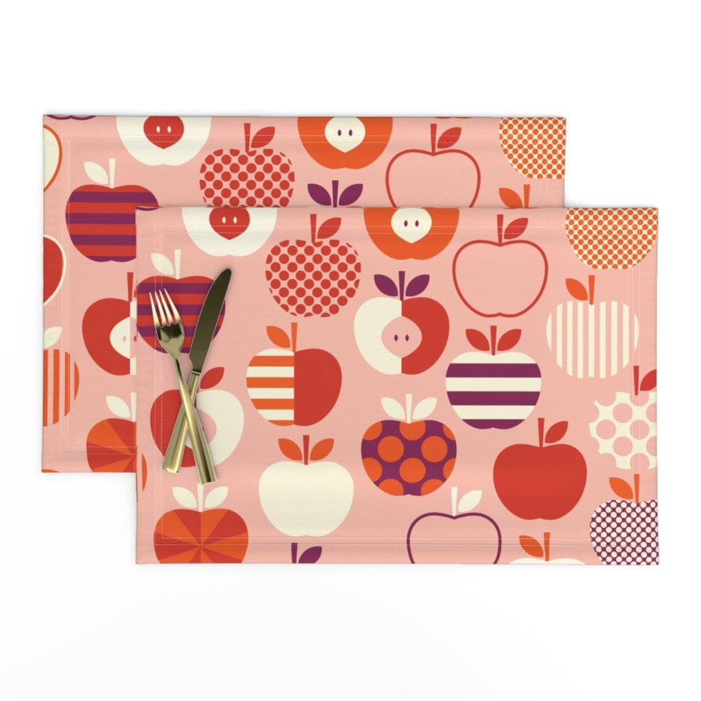 Lamona Cloth Placemats featuring Teacher's After School Snack by katerhees
