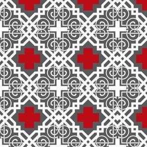 gridiron red cross