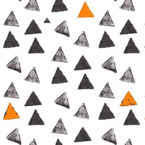 Ink Stamp Triangles