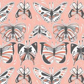 Spread Your Wings - Butterflies Pink