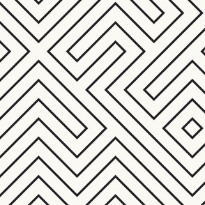 tribal_maze_ink_on_cream