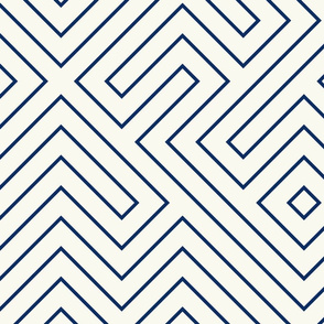 tribal_maze_navy_on cream