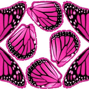 Mini Monarch Wings Pink