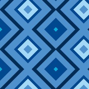 Large Blue Bias Squares