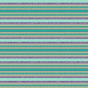 Hemp Persian Carpet Stripe