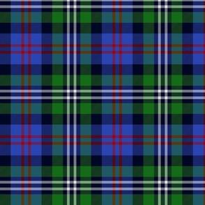 """Davidson double clan tartan, 8"""""""