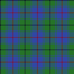 "Davidson half clan tartan, 6"""