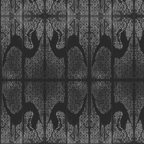 deerhound stretch in black