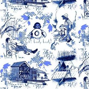 Huckleberry Finn / blue