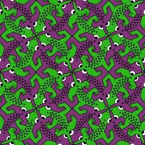 Tessellating lizard
