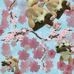 Sakura repeat (blue)