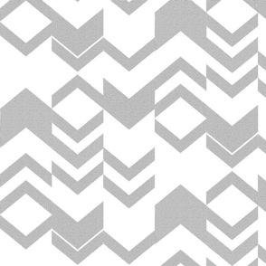 Gray Canvas Texture Chevron