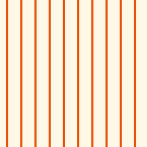 Marquise Orange and Cosmic Latte Stripe