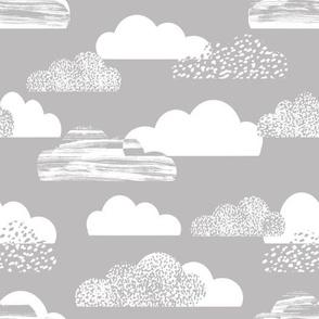 clouds grey sky baby nursery sweet cloud