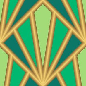 04500387 : art deco garden trellis