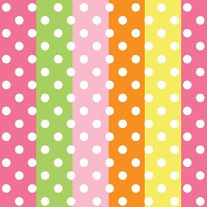 school idol - stripes + dots
