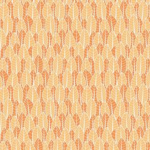 Protea Leaf Tangerine