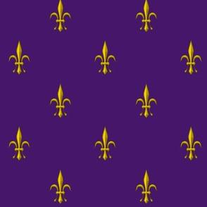 ©2011 Fleur de Lis 2010 - purple gold