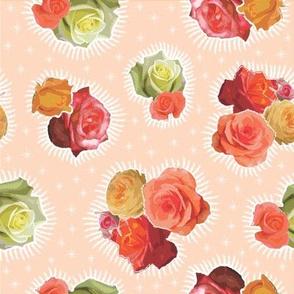 Guadalupe rose peach
