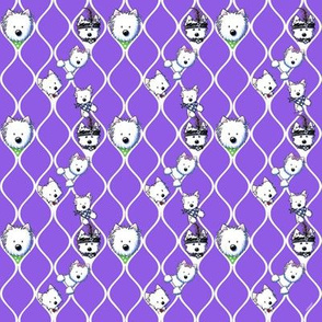 KiniArt Westies Unchained Purple