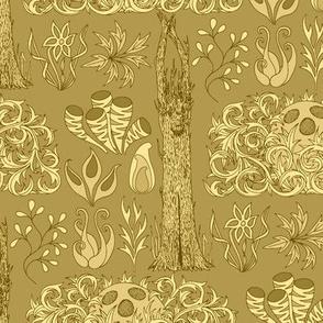 04510454 © exobotanical sketchbook : old gold