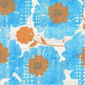 blue blooms-spring-watercolor