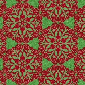 Christmas Bouquet Snowflake
