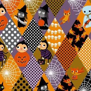 Halloween Cheater Fabric