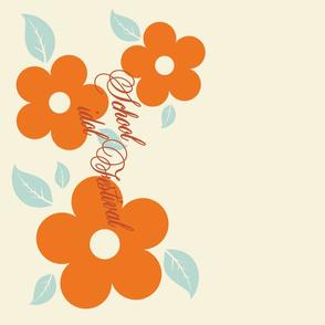 school idol - flower apron