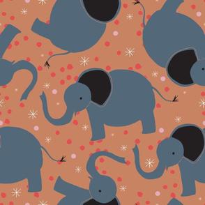 Orange Elephant Parade