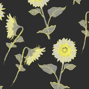 A Night of Sunflowers