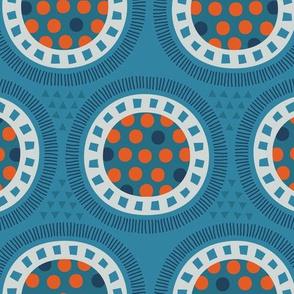 Geometric Party Circles