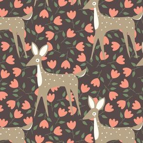 Brown Deer Pattern