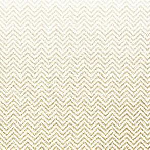 Gold Glitter Chevron Ombre