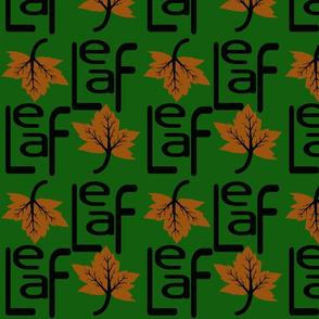 Modern Leaf 001