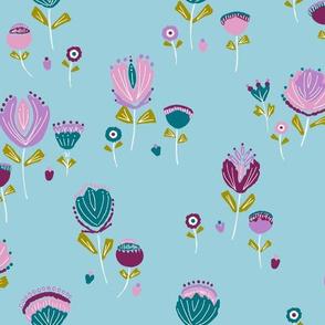 Folky Flowers