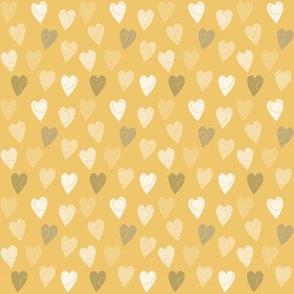 Linehearts Yellow