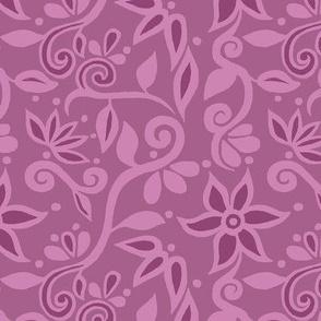 Rapunzel Skirt Floral