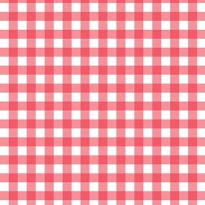 Gingham Red