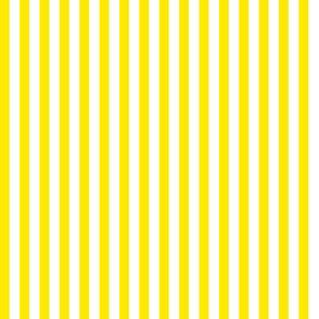 small popcorn stripe (bright yellow, small)