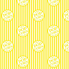 Hot Buttered Popcorn (bright yellow, small)
