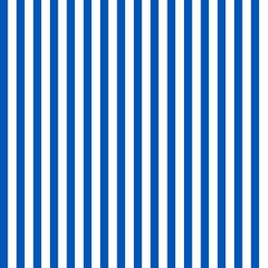 small popcorn stripe (picnic blue)