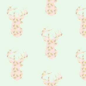 floraldeerhead_lightmint