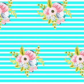 horizontalstripefloral_smallbrightblue