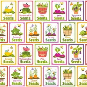 Little Cuties Garden Seed Packets