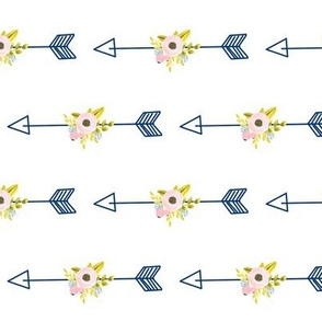 Floral Arrow