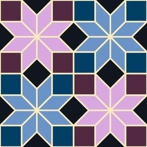 S84XV2V1 squares : jade to azure