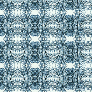 Tree Lace (Blue)