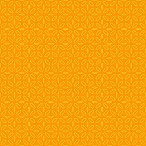 ellipse yellow on orange